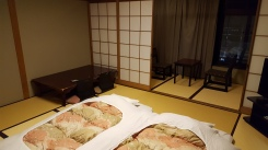 Typical Room in a Ryokan Inn
