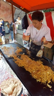Street Food at Shrine