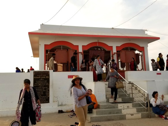 kalo dungar temple outside