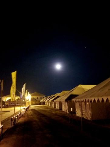 Tent Area at White Rann Resort