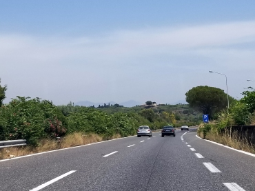 Driving in Sicily