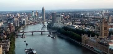 Thames River from London Eye